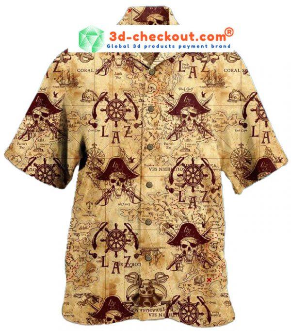 Pirate Unisex Hawaiian Shirt