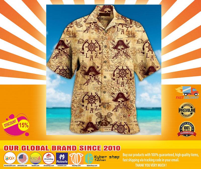 Pirate Unisex Hawaiian Shirt4