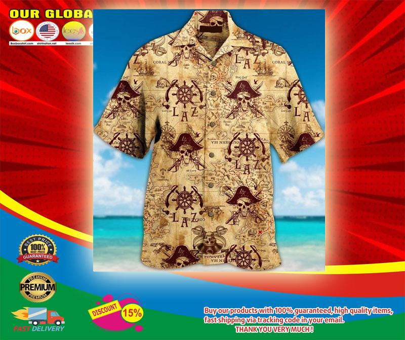 Pirate Unisex Hawaiian Shirt5