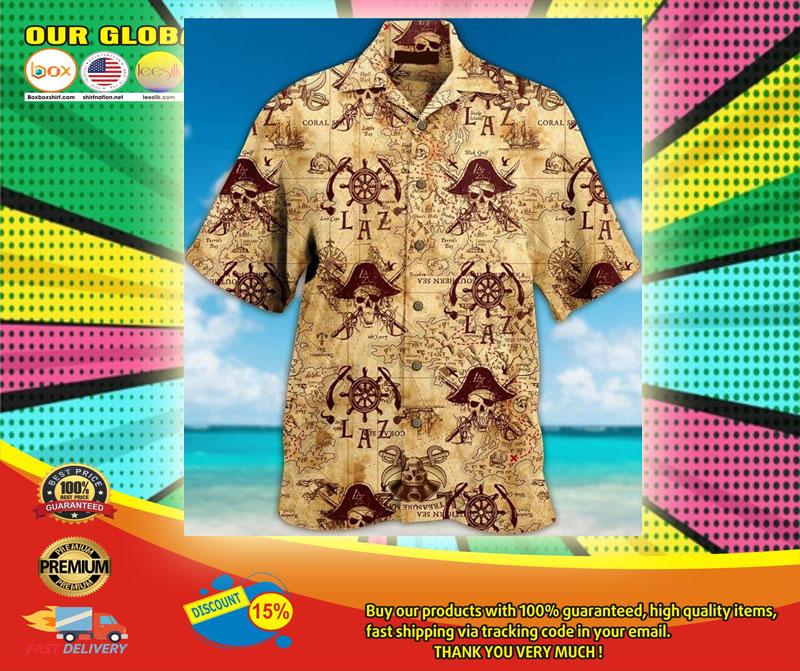 Pirate Unisex Hawaiian Shirt6
