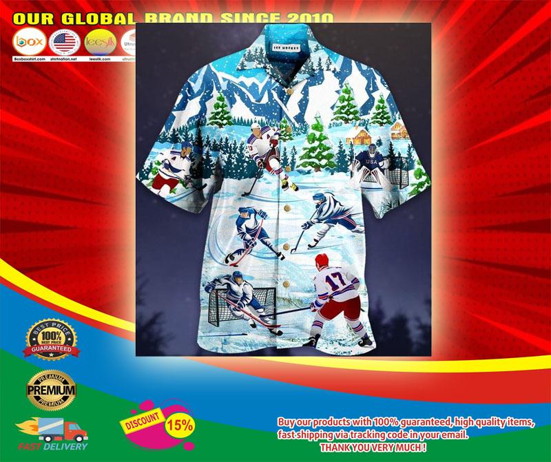 Play Ice Hockey Short Sleeve Shirt5