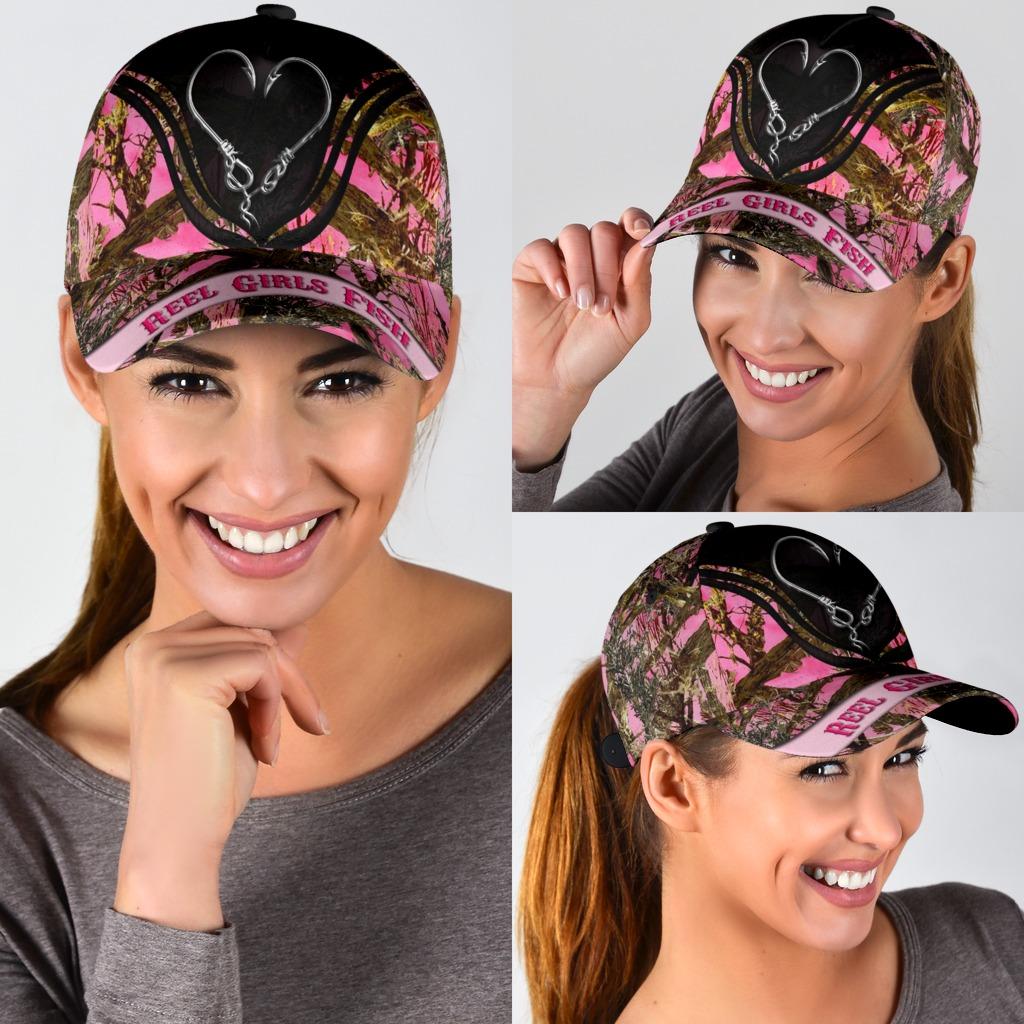 Reel girls fish cap3