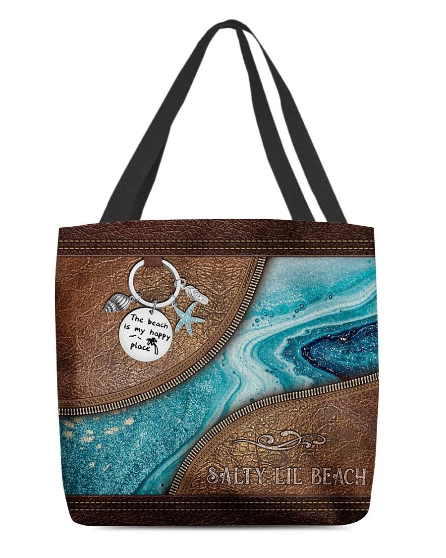 Salty lil beach tote bag2
