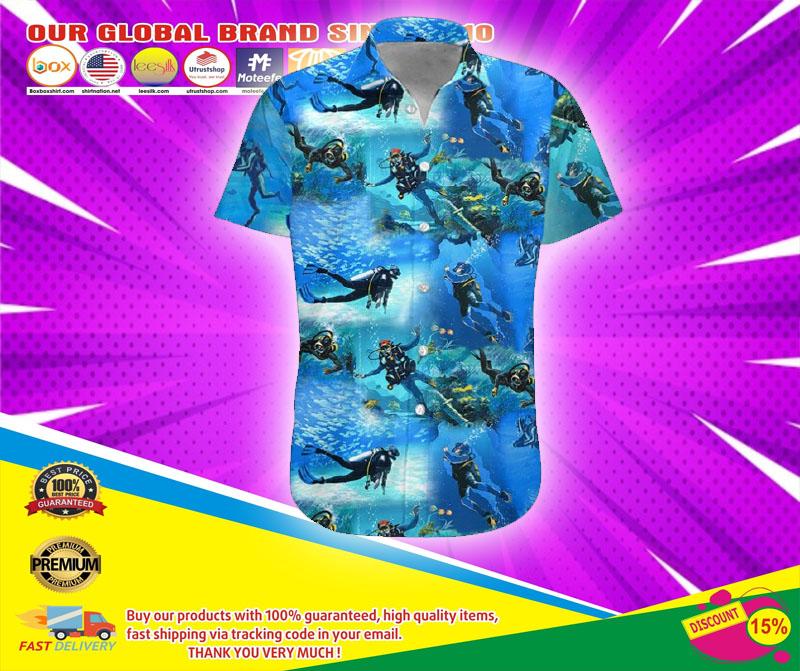 Scuba diving hawaiian shirt6