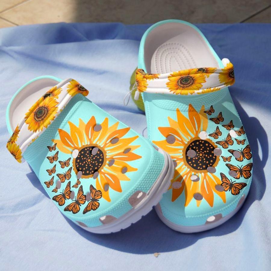 Sunflower croc bandcroc3