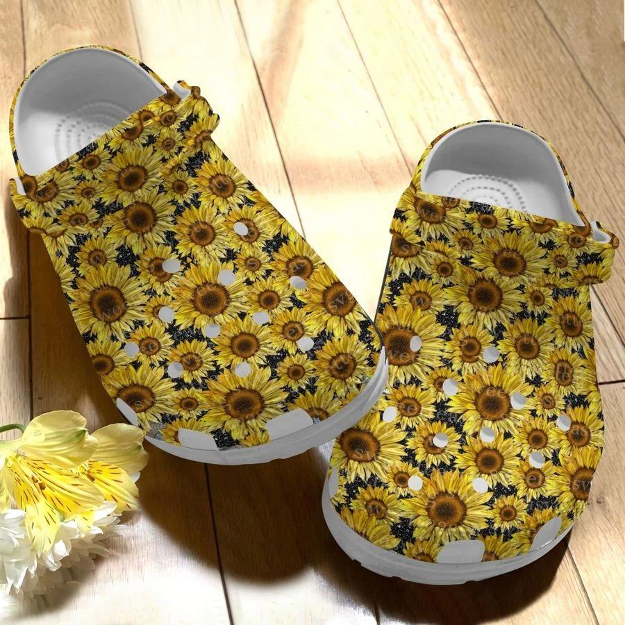 Sunflower crocs crocband clog2