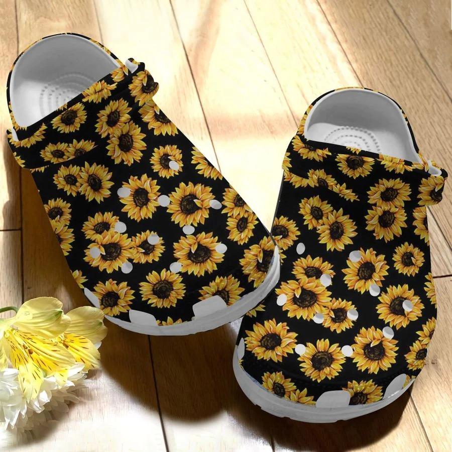 Sunflower crocs crocband clog3