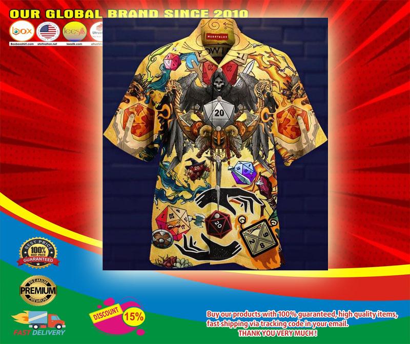 Take A Chane and Roll The Dice Hawaiian Shirt5