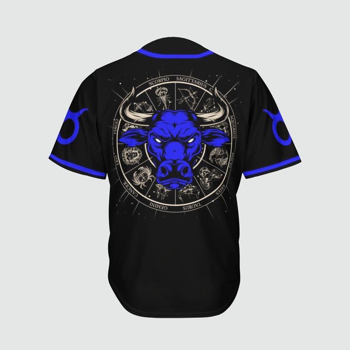 Taurus Awesome zodiac baseball jersey4