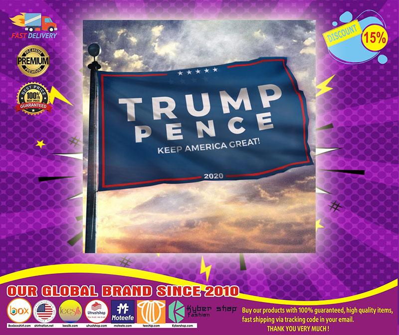 Trump pence keep America great flag11