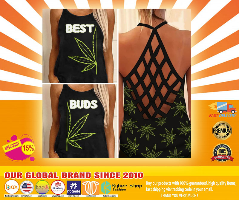 Weed Cannabis best bud Strappy tank top4