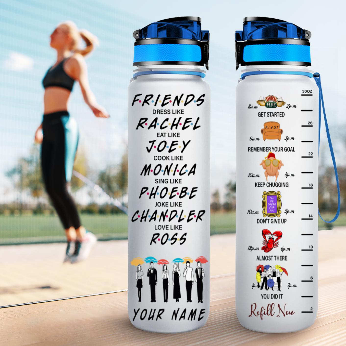 10 Friends TV show water Tracker Bottle 3 1