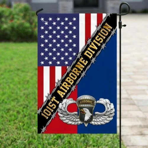 101st Airborne dividion American flag4