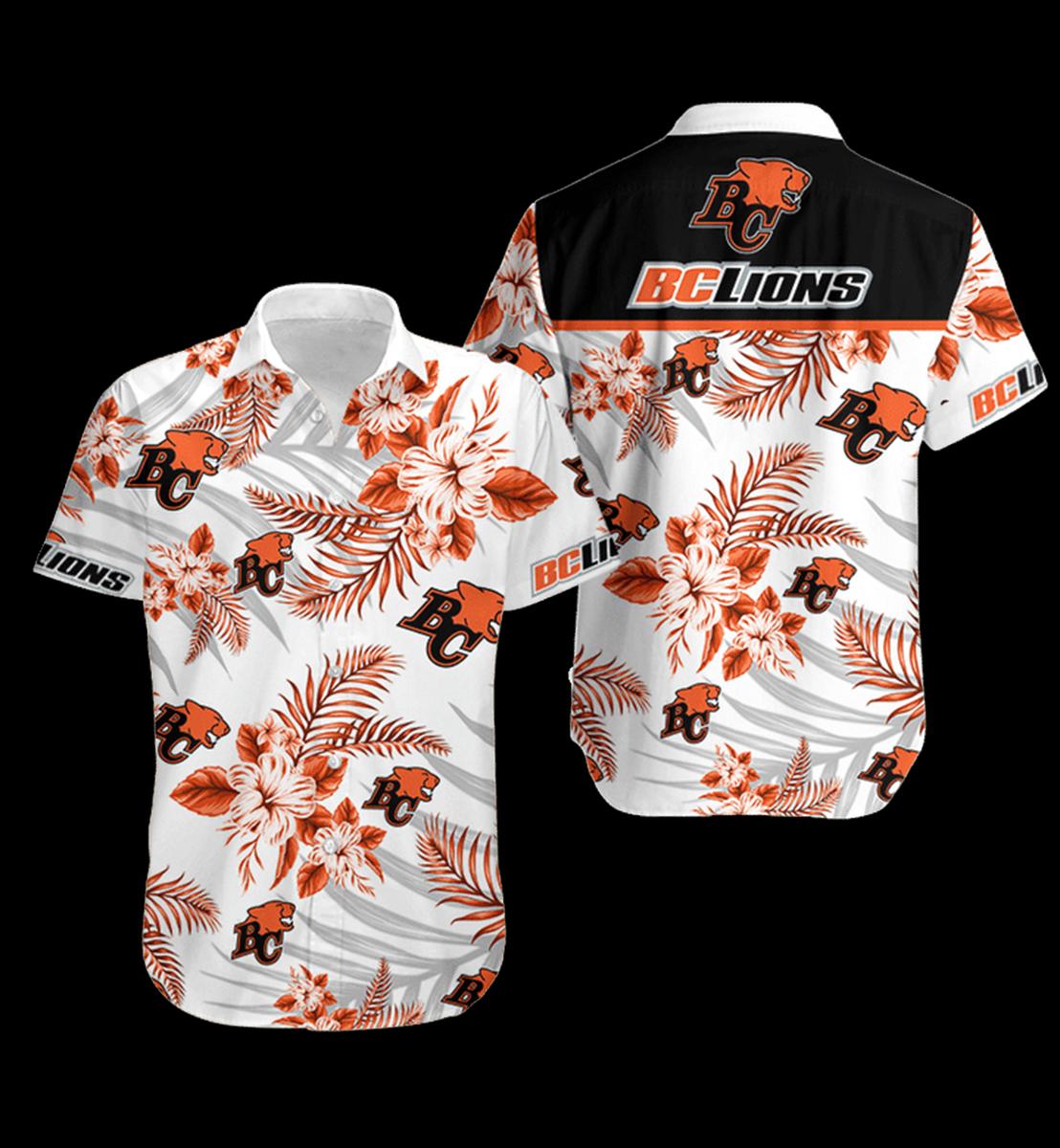 12 BC Lions Hawaiian Shirt 1 1