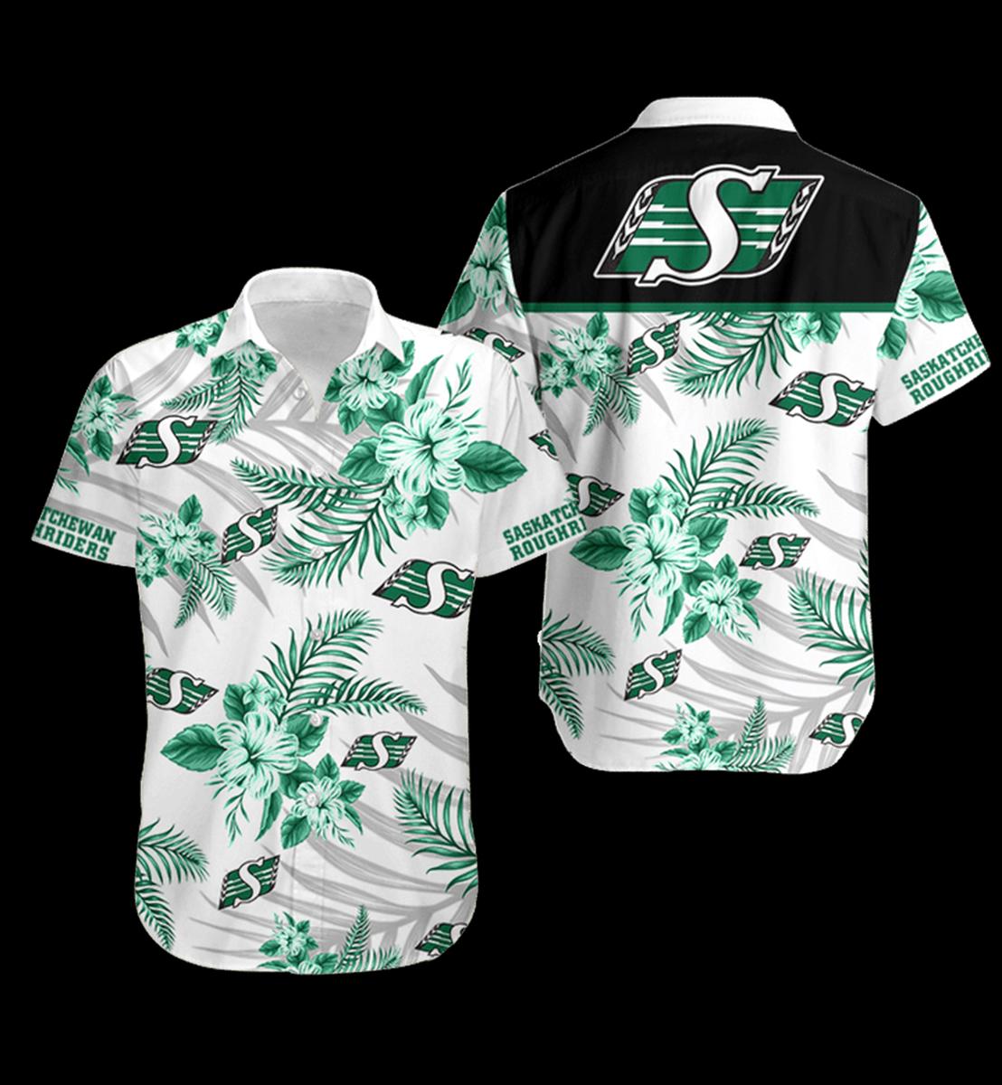 15 Saskatchewan Roughriders Hawaiian Shirt 1 1