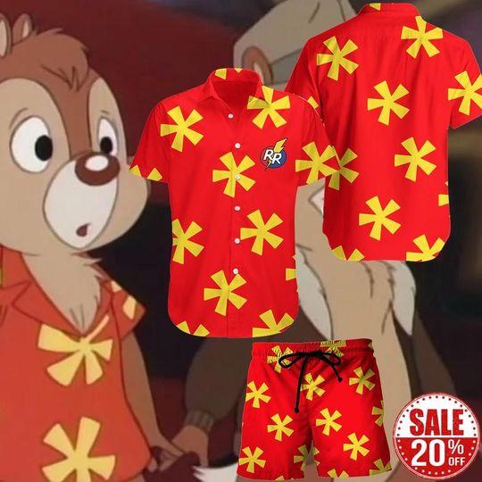 16 Chip and Dale Hawaiian Shirt and Short 1 1