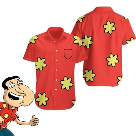 20 Glenn Quagmire Family Guy Hawaiian Shirt and Short 1 1