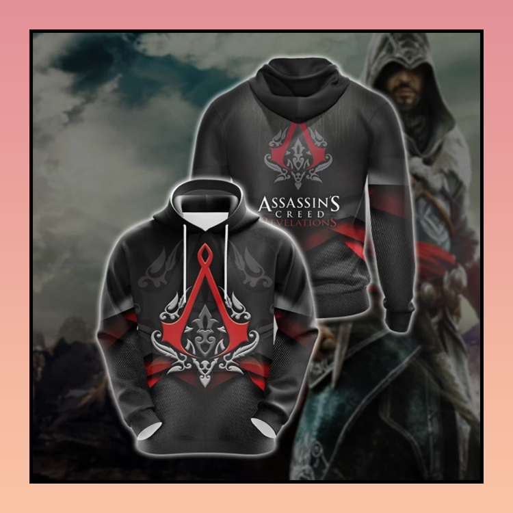 21 Assassins Creed Revelations all over print 3d Hoodie 2 1
