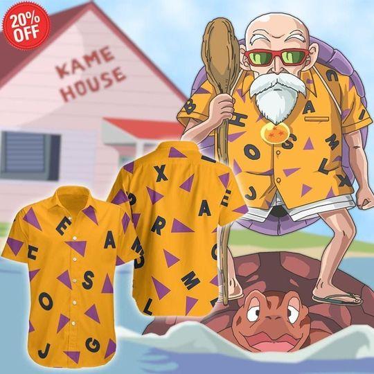 22 Dragon Ball Hawaiian Shirt and Short 1 1