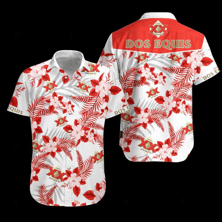 24 Dos Equis Hawaiian Shirt and Short 1 1