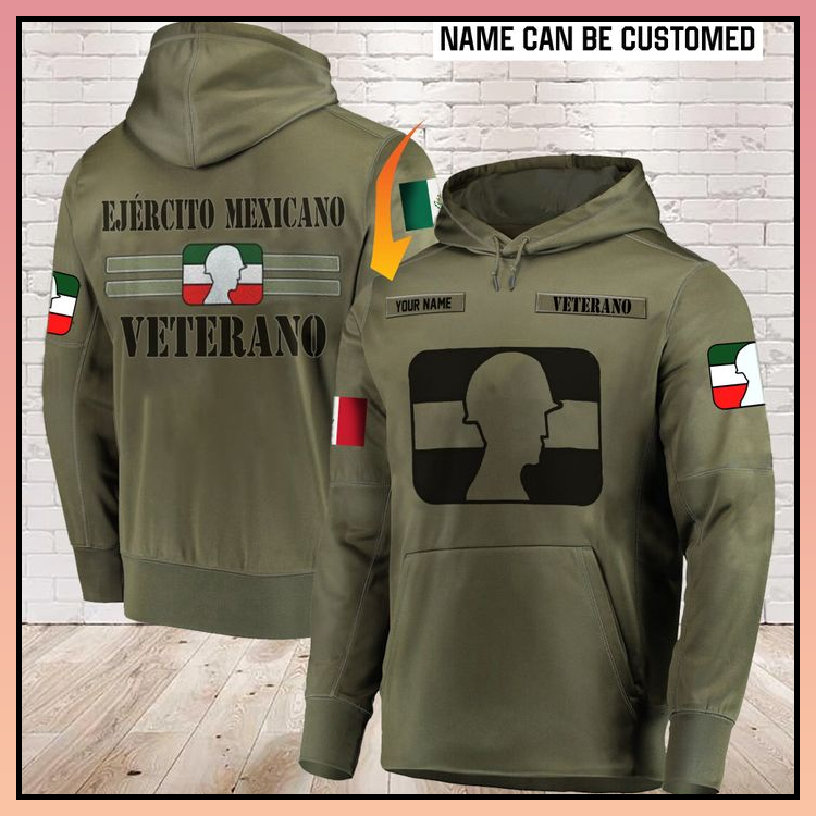 25 Ejercito Mexicano Veterano all over print 3d Hoodie 2 1