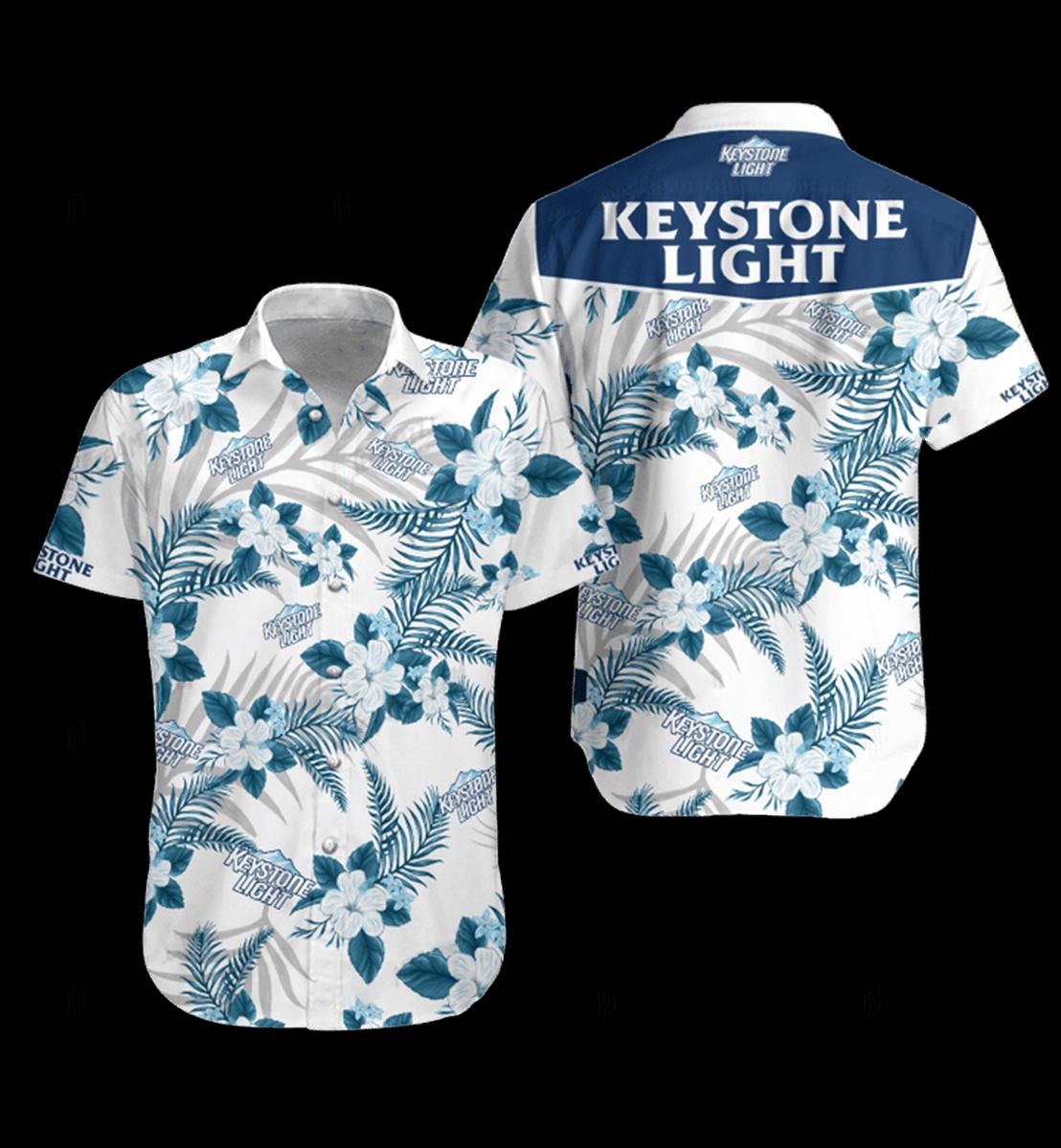 29 Keystone Light hawaiian shirt and Short 1 1