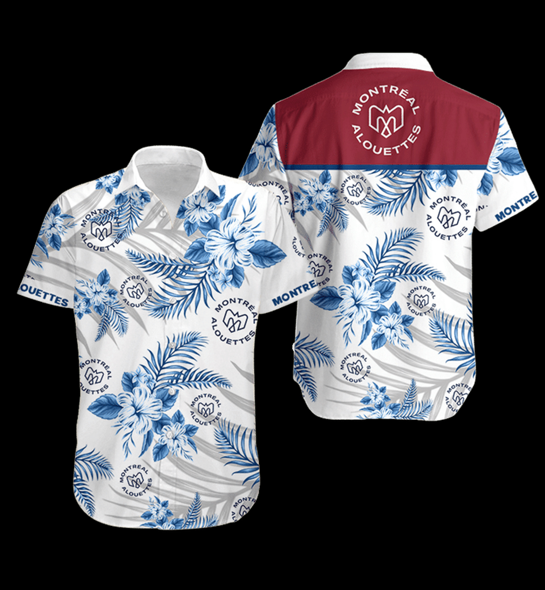 3 Montreal Alouettes Hawaiian Shirt 1 1