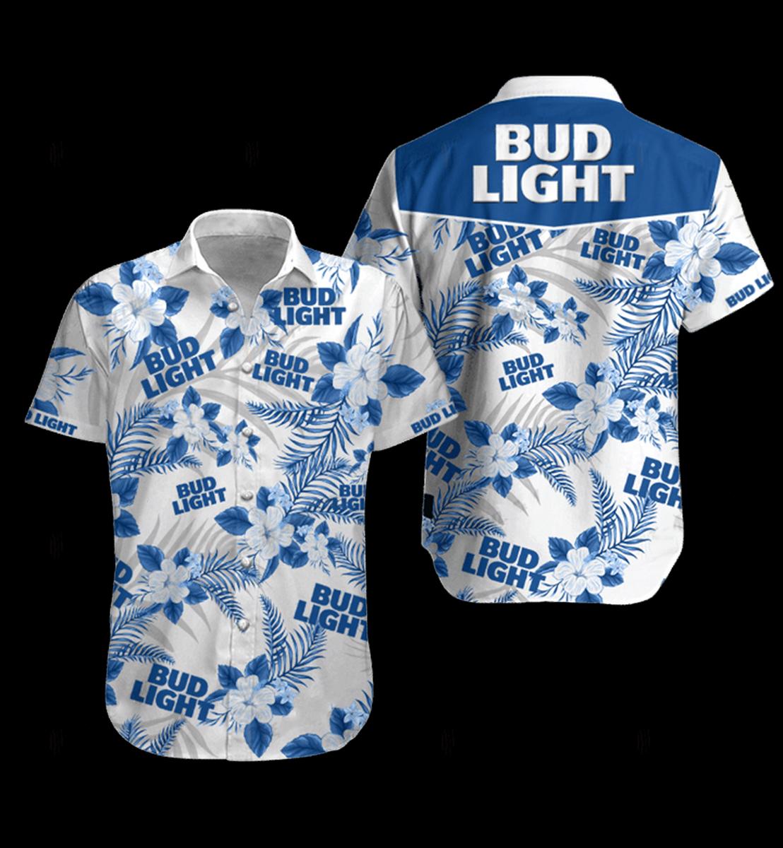 30 Natural Light hawaiian shirt and Short 1 1