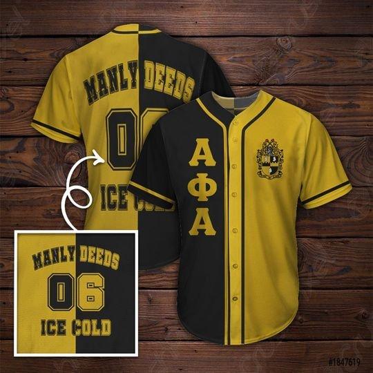 31 Alpha Phi Alpha Baseball Jersey shirt 1 1