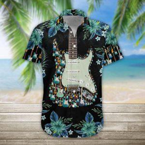 3D-Electric-Guitar-Hawaii-Shirt