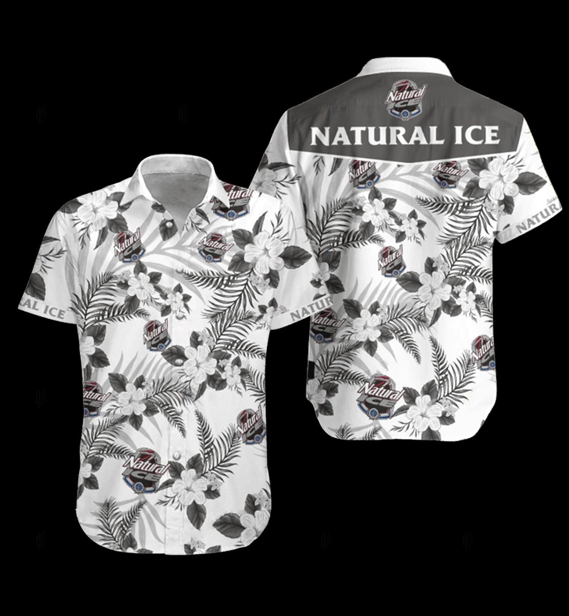 4 Natural Ice Hawaiian Shirt and Short 1 1