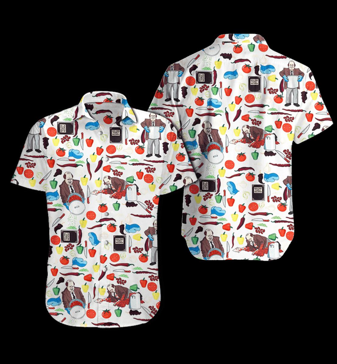 5 Kevins Famous Chili Hawaiian Shirt and Short 1 1