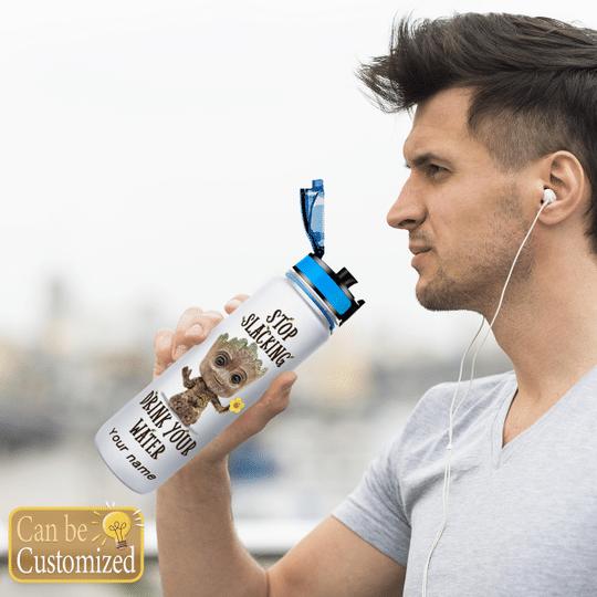 7 Groot Stop Slacking Drink your water tracker bottle 3 1