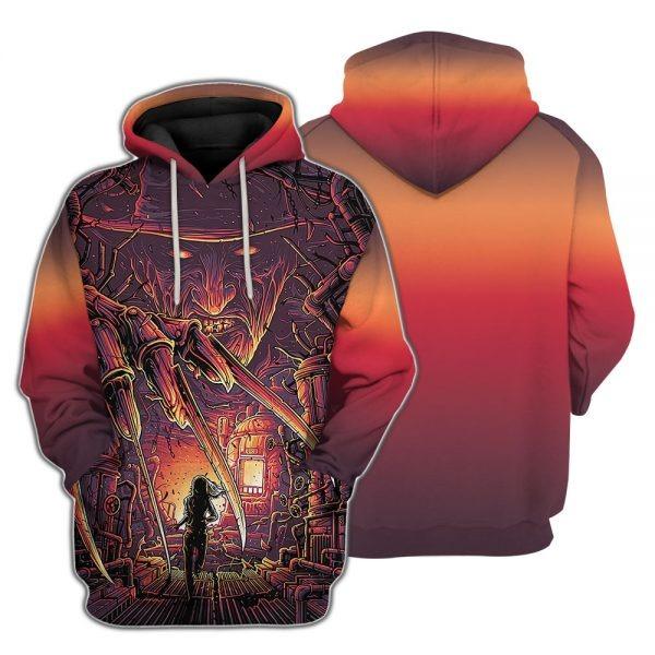 A Nightmare On Elm Street Freddy Krueger d hoodie