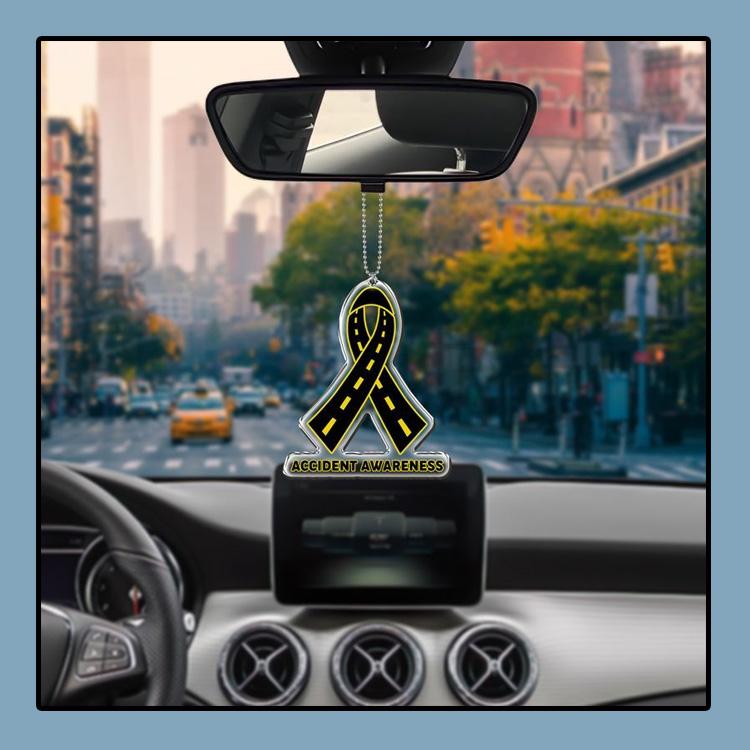 Accident Awareness car hanging Ornament 1