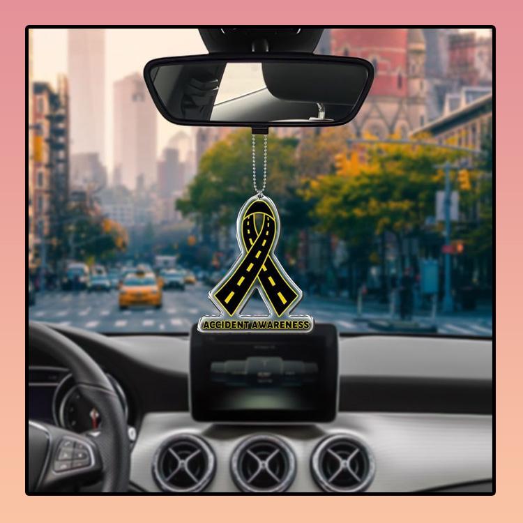 Accident Awareness car hanging Ornament 3