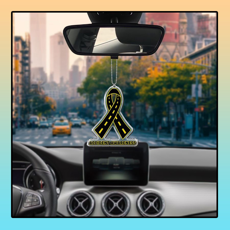 Accident Awareness car hanging Ornament 4