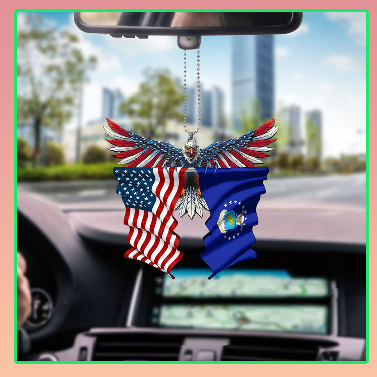 Air force United States American Eagles flag car hanging ornament5