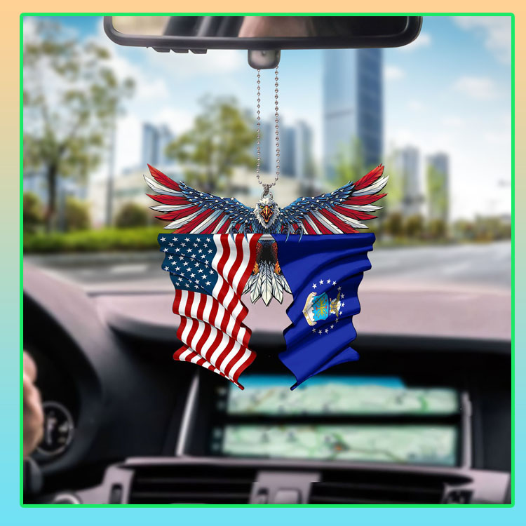Air force United States American Eagles flag car hanging ornament6