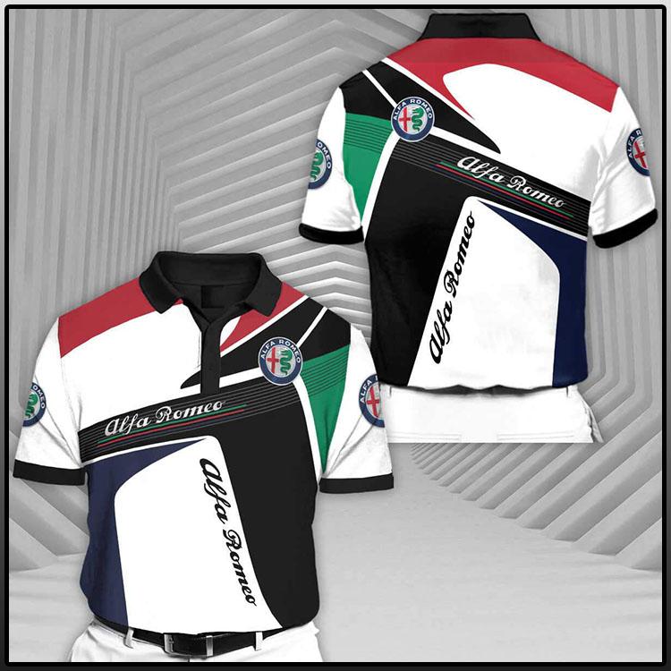 Alfa Romeo Short Sleeve Polo Shirt