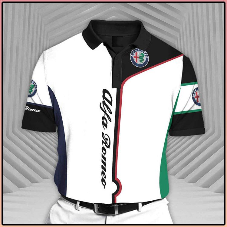 Alfa Romeo Short Sleeve Polo Shirt4