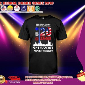 All gave some some gave all 20 year anniversary shirt 2