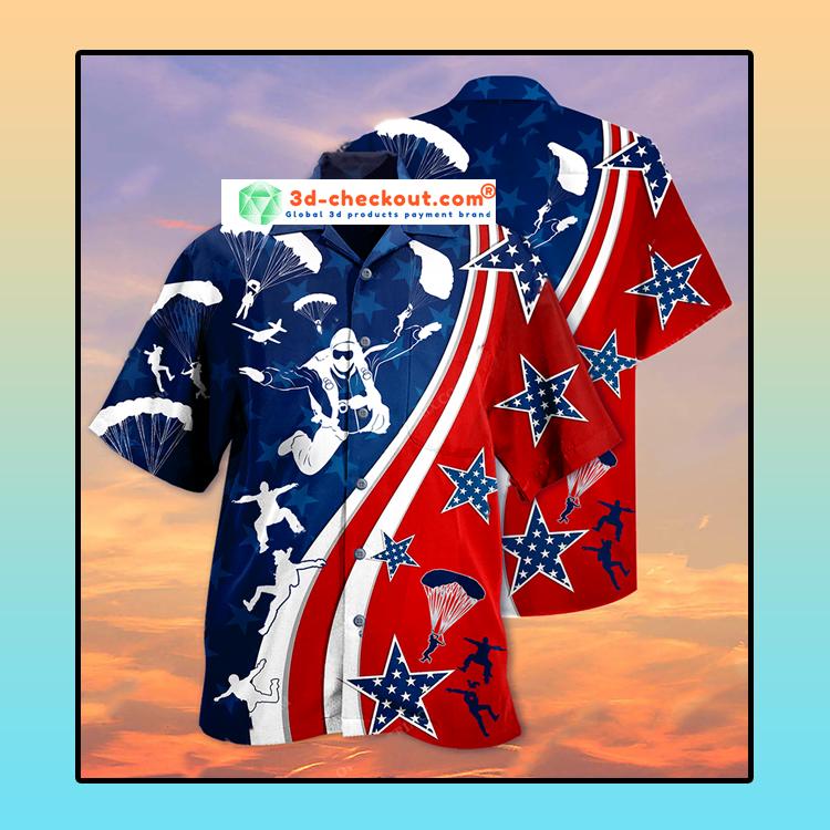 America Parachute jump Hawaiian4