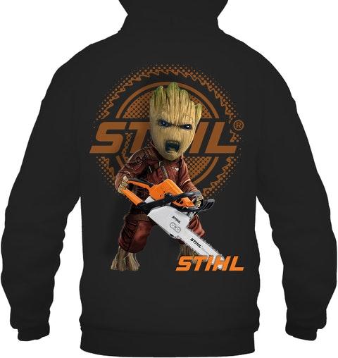 Baby Groot Stihl shirt hoodie