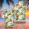 Baseball tropical hawaiian shirt