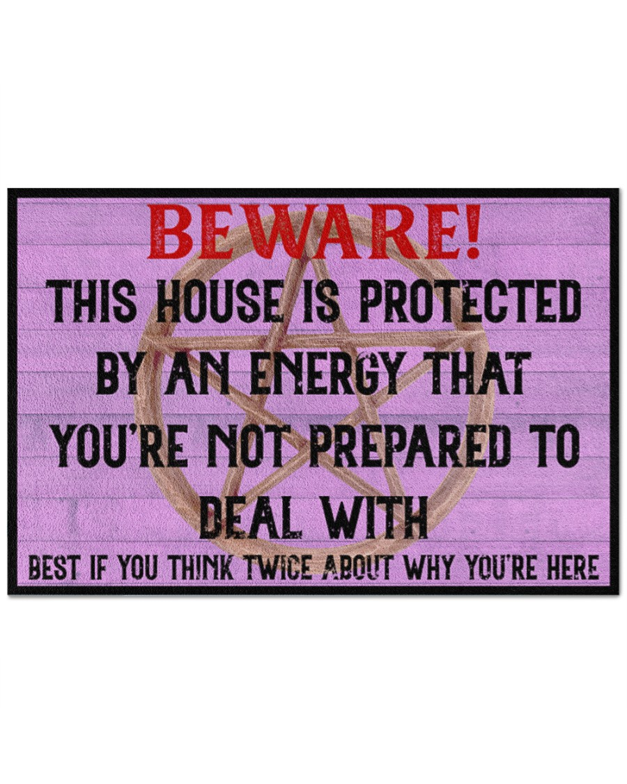 Beware This House Is Protected By An Energy That Youre Not Prepared To Deal With Doormat