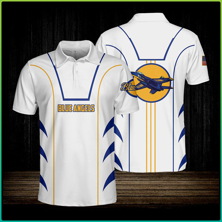 Blue Angels USN Polo Shirt6