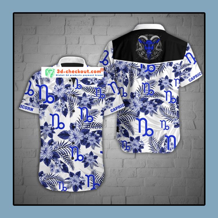 Capricorn tropical hawaiian shirt1