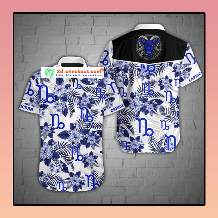 Capricorn tropical hawaiian shirt3