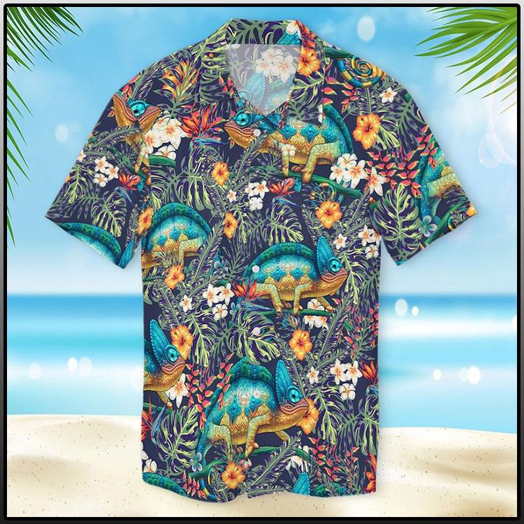 Chameleon Hawaiian Shirt1